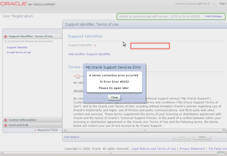 Capture-My Oracle Support | User Registration - Mozilla Firefox.png